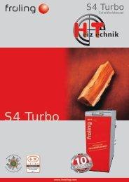 Prospekt Fröling S4 Turbo DE