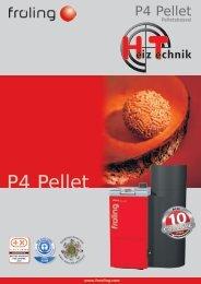 Prospekt Fröling P4 Pellet DE