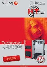 Prospekt Fröling Turbomat 150-500 DE