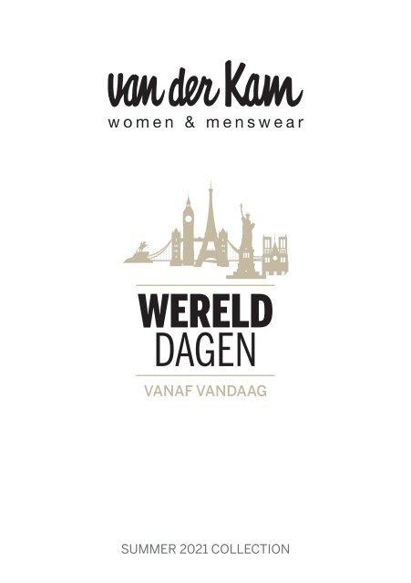 Werelddagen brochure van der Kam