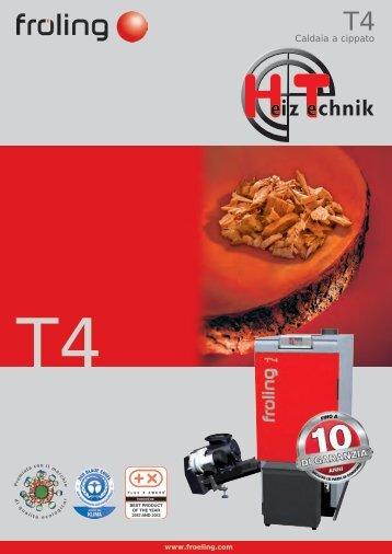 Brochure Fröling Prospekt T4 IT
