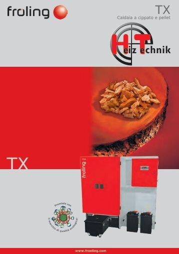 Brochure Fröling TX150 IT