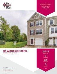 136 Woodside Drive Marketing Flyer
