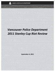 2011 Stanley Cup Riot Review - City of Vancouver