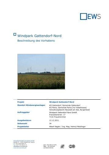 Windpark Gattendorf-Nord - Burgenland.at