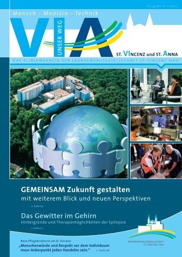Ausgabe Nr. 1 / 2011 - St. Vincenz Krankenhaus Limburg