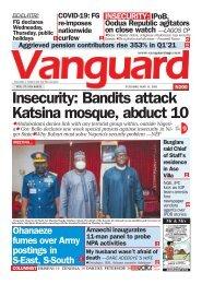 11052021 - Insecurity: Bandits attack Katsina mosque, abduct 10