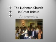 The Lutheran Church in Great Britain