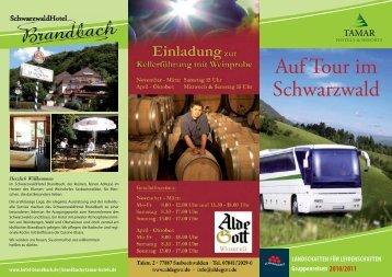 Auf Tour im Schwarzwald - Tamar Hotels and Resorts