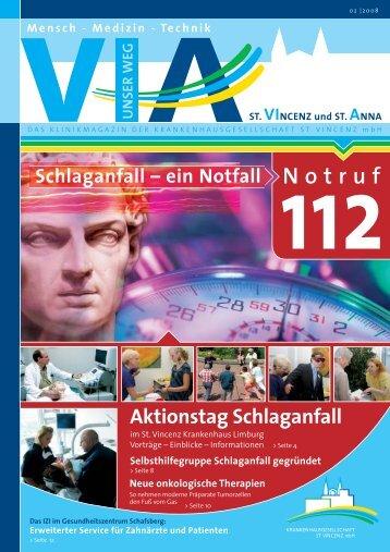Aktionstag Schlaganfall - St. Vincenz Krankenhaus Limburg