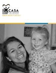 ANNUAL REPORT FY 2010-2011 - CASA of Santa Cruz