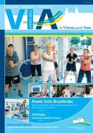 Power trotz Brustkrebs - St. Vincenz Krankenhaus Limburg
