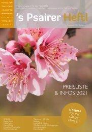 2021*Preisliste Mail-sm-Psairer Heftl-Maiser Wochenblatt-MP