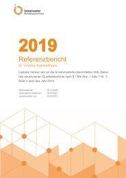 Qualitätsbericht St. Vinzenz-Krankenhaus 2019