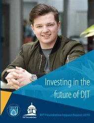DIT Foundation Donor Report 2016