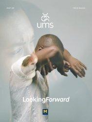UMS 2021/22 Season Brochure