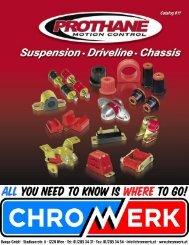 Prothane catalog 11 - Chromwerk