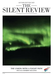 THE SILENT REVIEW AUTUMN EDITION 2021