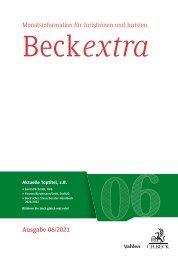 BeckExtra 06/2021