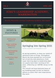 Newsletter - April 2021