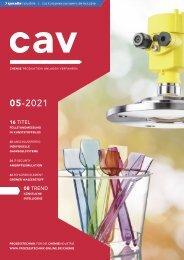 cav – Prozesstechnik für die Chemieindustrie 05.2021
