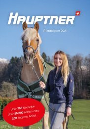 Hauptner Pferdesport Katalog 2021