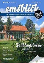 Emsblick Haren - Heft 62 (Mai/Juni 2021)