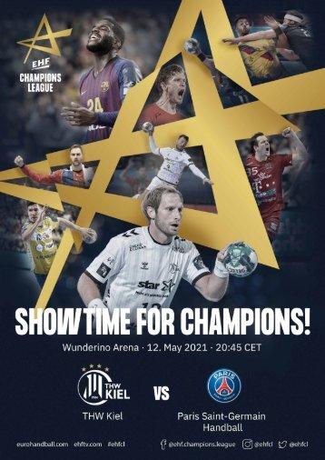 THW Kiel vs. Paris Saint-Germain Handball, 12.05.2021 in Kiel