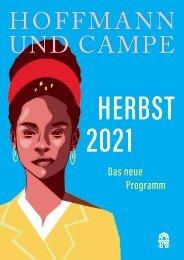 Hoffmann und Campe Verlag Vorschauen Herbst 2021