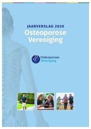 Jaarverslag Osteoporose Vereniging 2020