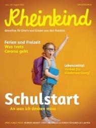 Rheinkind Ausgabe Juni, Juli, August 2021