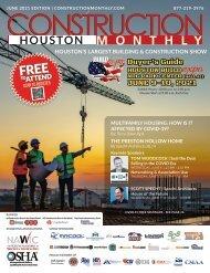 Construction Monthly Magazine | Houston 2021 Build Expo Show Edition