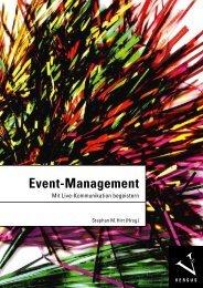 Leseprobe: Stephan M. Hirt (Hrsg.): Event-Management