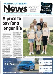 North Canterbury News: May 13, 2021