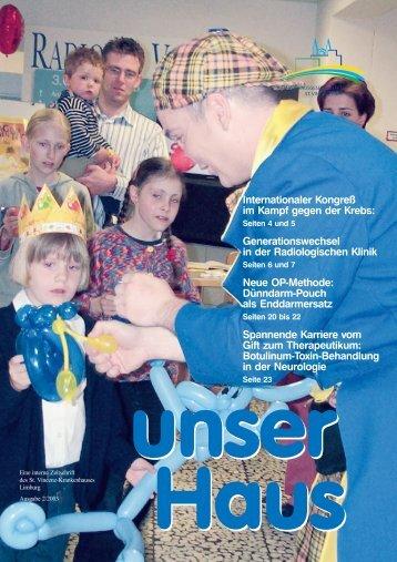 Ausgabe Nr. 2 / 2003 (3,6 MB) - St. Vincenz Krankenhaus Limburg