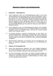 Verkauf AGBs - Staufen Baumaschinen GmbH