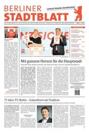 Stadtblatt Charlottenburg-Wilmersdorf  Mai 2021
