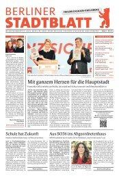 Stadtblatt Friedrichshain-Kreuzberg   Mai 2021