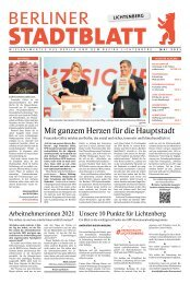 Stadtblatt Lichtenberg   Mai 2021