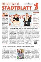Stadtblatt Mitte   Mai 2021