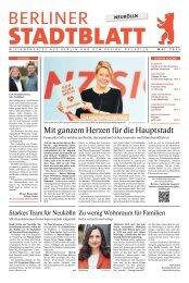 Stadtblatt Neukölln   Mai 2021