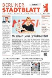 Stadtblatt Spandau   Mai 2021