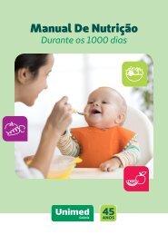 Manual de Nutrição Durante os 1000 Dias