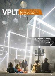 VPLT Magazin 85