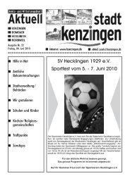 7. Juni 2010 - Kenzingen