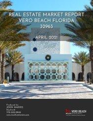 Vero Beach 32963 Real Estate Market Report April 2021
