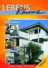 Spezial: Heizsysteme Wärmedämmung Wintergärten - infoprint Verlag