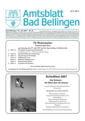 DLG prämiert - Gemeinde Bad Bellingen