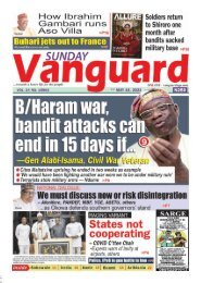 16052021 - B/Haram war, bandit attacks can end in 15 days if
