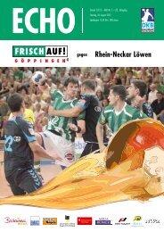 Rhein-Neckar Löwen - FRISCH AUF! Göppingen